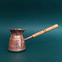 Массивная большая турка для кофе . Клеймо 1 рубль. Предмет из СССР.