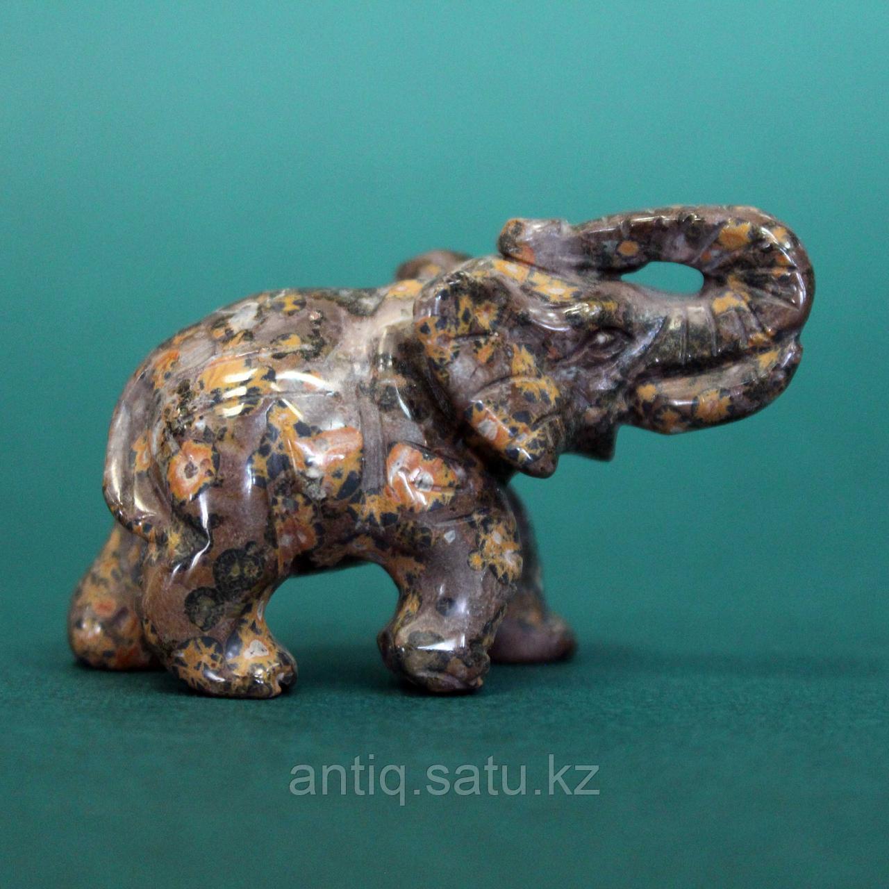 Слон из натурального камня. - фото 1