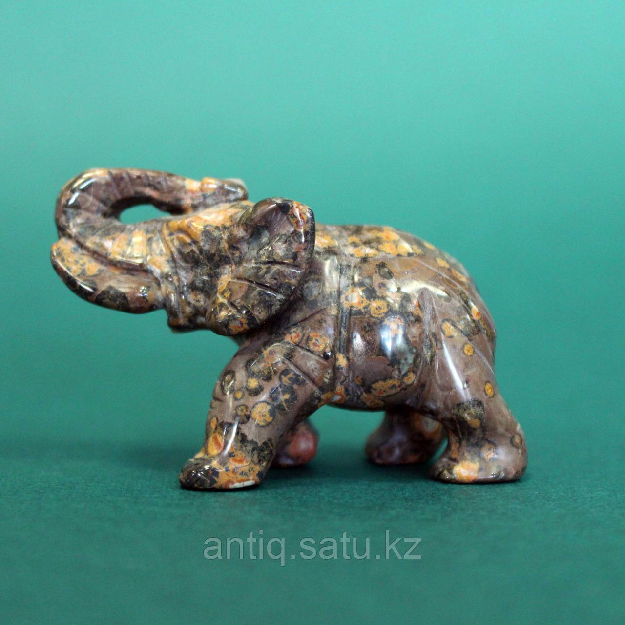 Слон из натурального камня. - фото 3