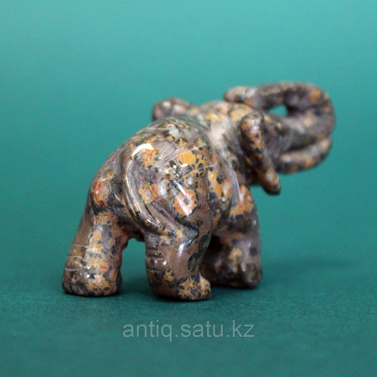 Слон из натурального камня. - фото 4