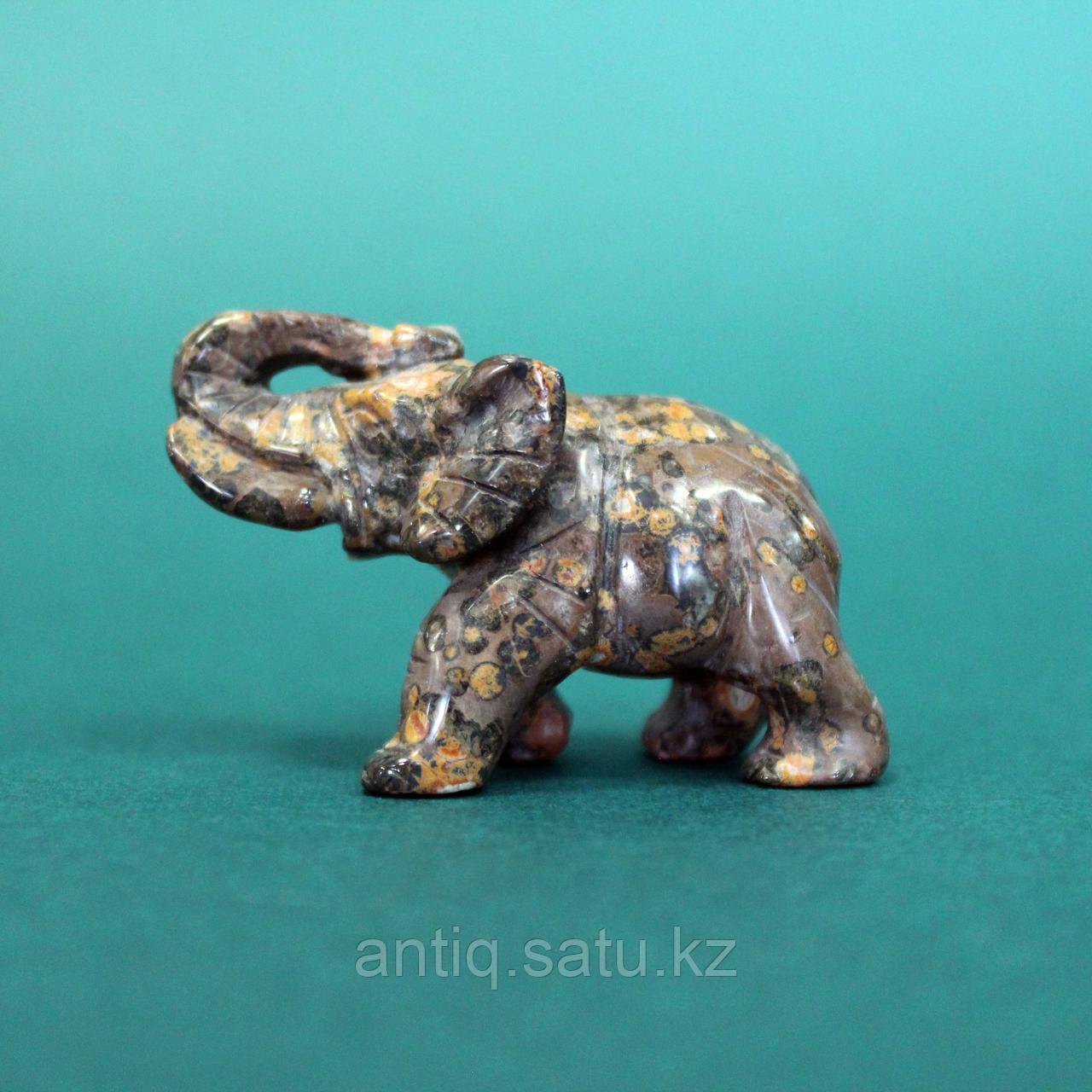 Слон из натурального камня. - фото 5