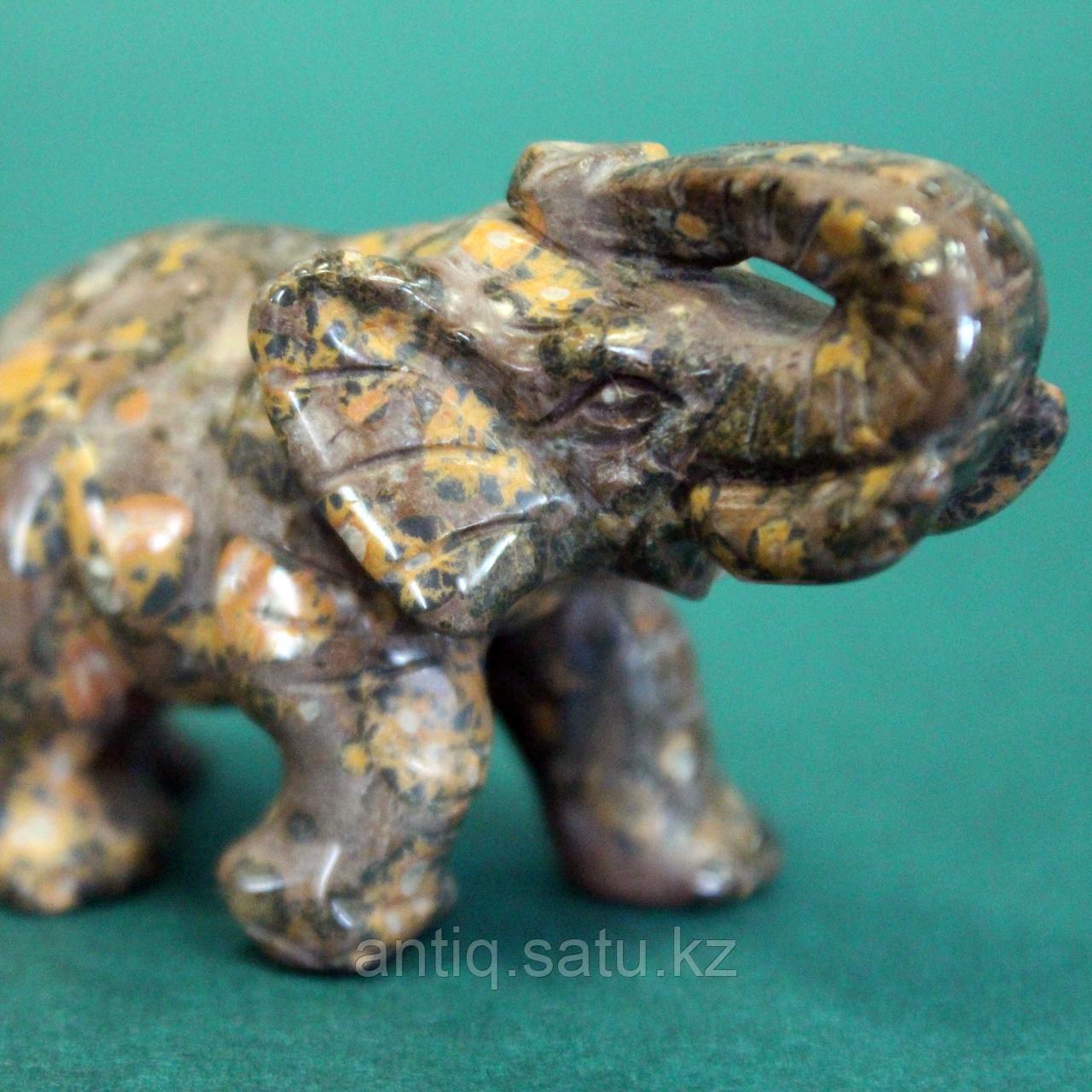 Слон из натурального камня. - фото 6