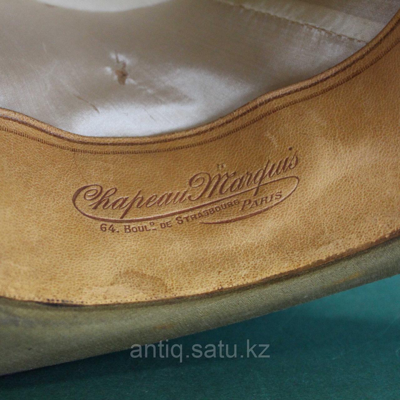 Старинный цилиндр модного парижанина 19 века. - фото 5