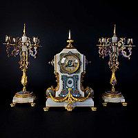 Часовой гарнитур в восточном стиле Часовая мастерская Japy Freres
