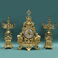 Часовой гарнитур в стиле Историзм
