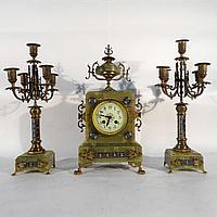 Часовой гарнитур в стиле Наполеона III Часовая мастерская G. Megnin