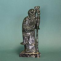 Шоусин один из семи богов счастья, приносящий здоровье, исцеление от тяжелых недугов и долголетие. НЕФРИТ