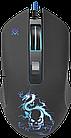 Мышь проводная игровая оптическая Defender Sky Dragon GM-090L (черный),USB, 6 кн. + колесо, 800-3200