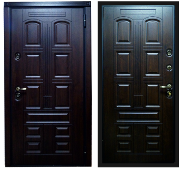Металлические двери в квартиру RD-1