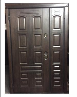 Двери входные металлические RD-1 -1200