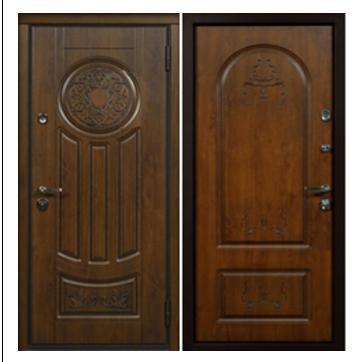 Дверь входная металлическая утепленная Валенсия