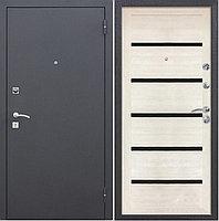 Металлические двери в квартиру Царга СБ-1 лиственница беленая