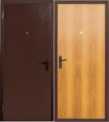 Металлические двери в квартиру ДС 060 мил.орех