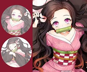 Дакимакура Незуко - Клинок, рассекающий демонов (наволочка на подушку)