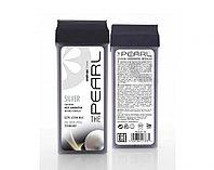Воск для депиляции SIMPLE USE BEAUTY полимерный в картридже THE PEARL Silver - СЕРЕБРО 100 мл