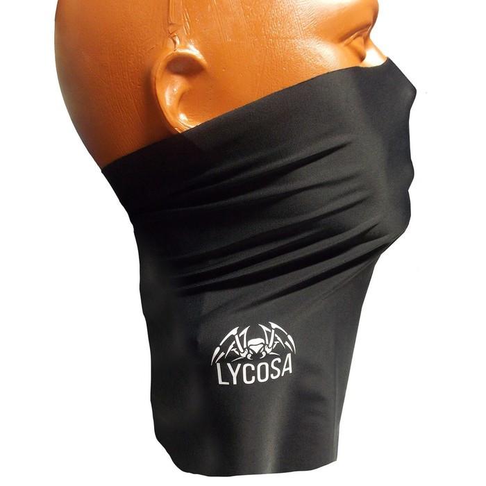 Бандана-труба, LYCOSA SILK, BLACK