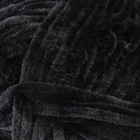 Пряжа 'Velour' 100 микрополиэстер 170м/100г (842 черный)