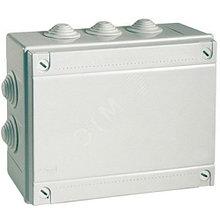 Коробка распределительная большая - 240 х 190 х 90 мм., IP55, с кабельными вводами.