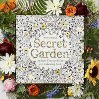 Раскраска Secret Garden антистресс для взрослых и детей набор 4 книги