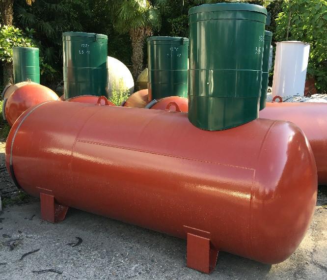 Резервуар РЕАЛ 4,6-НС объем 4,6 м3,диаметр 1200 мм, 6 мм