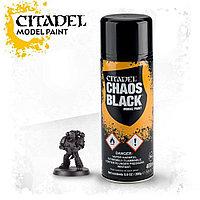 Spray: Chaos Black (Спрей-грунтовка: Черный Хаос). 400 мл.