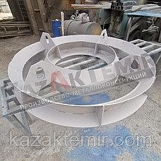 КО-6 виброформа (h-50) для производства плит перекрытия колец, фото 3