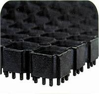 1 ступень (крыльцо) Крупноячеистое резиновое покрытие