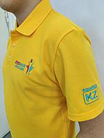 Нанесение (вышивка) логотипа на футболку и поло