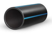 Труба полиэтиленовая для водоснабжения SDR 17,6 наружным диаметром от 40 мм