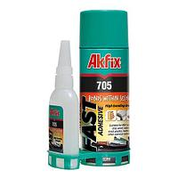 Клей двухкомпонентный Akfix 200мл/65гр