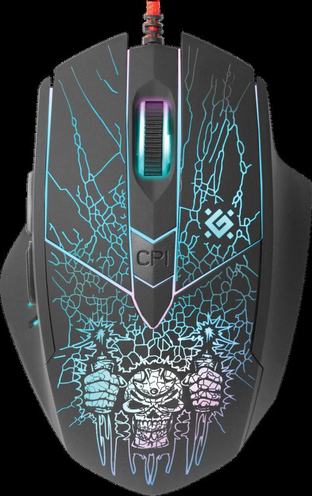 Мышь игровая оптическая Defender Doom Fighter GM-260L (Black)
