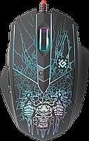 Мышь игровая оптическая Defender Doom Fighter GM-260L (Black), фото 1