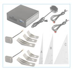 """BSM-комплект датчиков """"слепых зон"""", устанавливаемых под задний бампер, PILOT-10"""