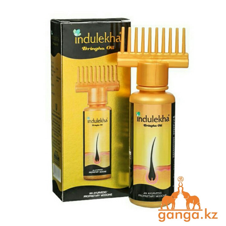 Аюрведическое масло против выпадения и для роста волос Индулекха (Indulekha Bringha Oil), 100 мл