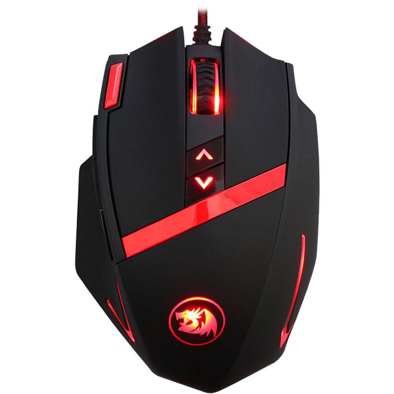 Мышь проводная игровая лазерная Redragon Mammonth (Black)