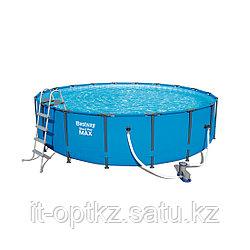 Каркасный бассейн Steel Pro MAX 549*122 полной комплектации