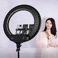 Селфи лампа, кольцевая на подставке с креплением для фотоаппата , 54 см