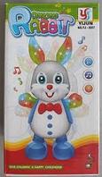Музыкальный заяц (игрушки для маленьких)