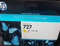 Струйный картридж HP B3P21A №727 Yellow оригинал