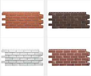 Фасадные панели BERG (Кирпич) Коллекция Döcke-R