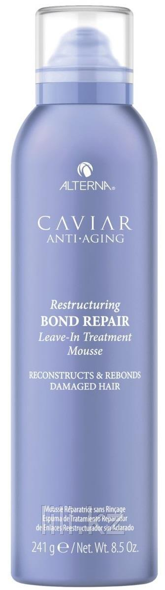 Мусс для восстановления волос Caviar Anti-Aging Bond Repair Leave-in Treatment Mousse 241 г.