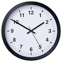 Часы настенные ЧАЛЛА черный, 28 см ИКЕА, IKEA, фото 1