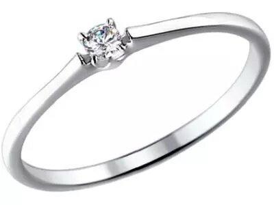 Золотое кольцо SOKOLOV 1011355_165