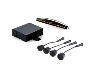 Комплект парковочных датчиков (парктроники) STEEL MATE PTS400M7 (BLACK/SILVER)
