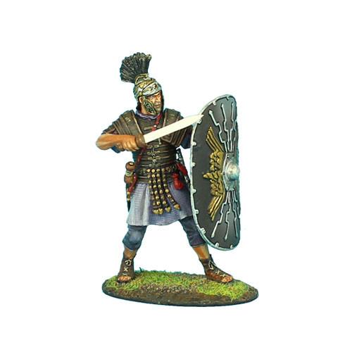 Коллекционный солдатик. Слава Рима. Преторианский Гвардеец Римской Империи, с гладиусом