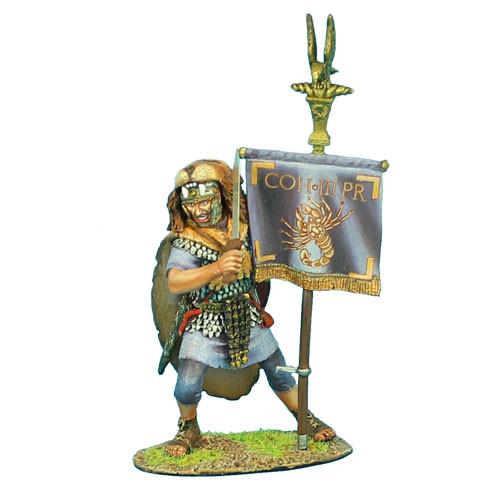 Коллекционный солдатик. Слава Рима. Преторианский вексиллярий Имперской армии