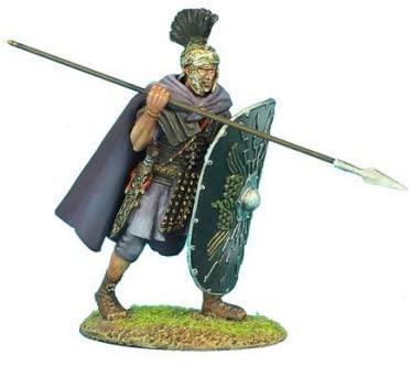 Коллекционный солдатик. Слава Рима. Преторианский Гвардеец Римской Империи, с пилумом № 4