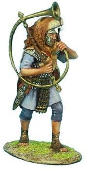 Коллекционный солдатик. Слава Рима. Преторианский Трубач Римской Империи