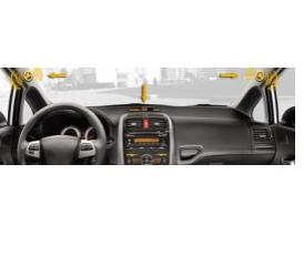 Комплект парковочных датчиков (парктроники) с контролем слепых зон PILOT-2651 (4 ЗАДНИХ ДАТЧИКА + КОНТРОЛЬ СЛЕ