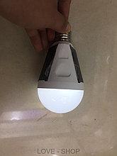Энергосберегающая лампочка с аккумулятором (работает от солнечной энергии).